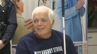 Recovered Mount Vernon officer, shot on job, raises 12 flag at Seahawks game