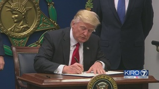 President Trump drops appeal of travel ban blocked by Seattle judge
