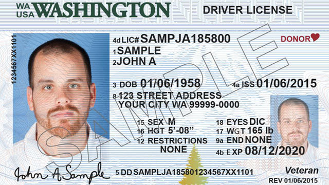 wa replacement drivers license cost