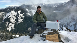 Wash. man hikes Mailbox Peak on birthday, replaces missing mailbox with…