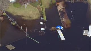 Emergency fix at flooding Lynnwood lake to begin