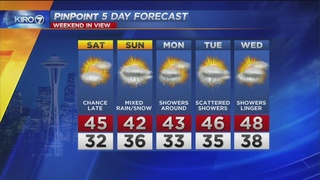 KIRO 7 PinPoint Weather for Fri. evening