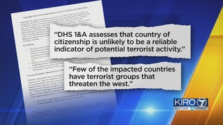 AP: Homeland Security intel report disputes threat posed by travel ban nations