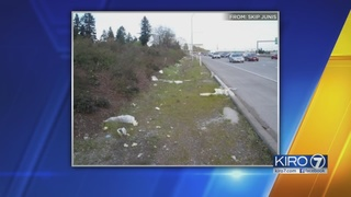 Kitsap man takes 600 pictures of trash amid state
