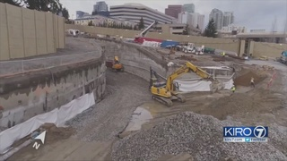 Digging begins on Bellevue light rail tunnel