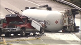 PHOTOS: Tanker carrying propane crashes,… - (1/21)