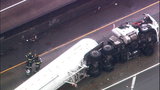 PHOTOS: Tanker carrying propane crashes,… - (2/21)