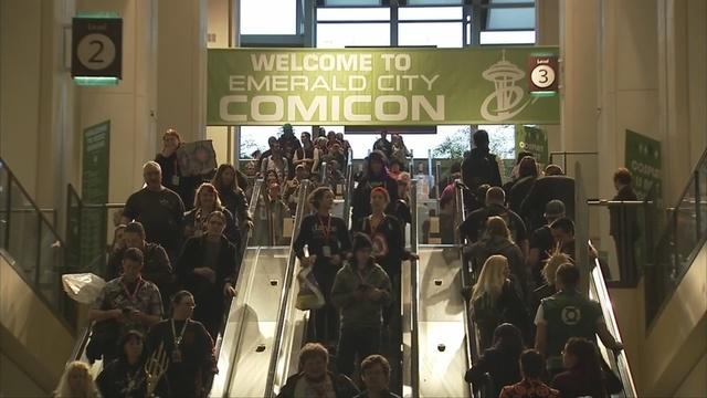 Emerald City Comicon sees record attendance | KIRO-TV