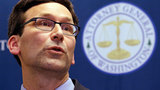 In this Feb. 9, 2017, file photo, Washington Attorney General Bob Ferguson speaks at a news conference in Seattle, Wash. (AP Photo/Elaine Thompson, file)