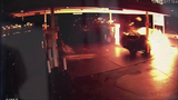 FRAME BY FRAME: Car crash into gas pump… - (2/8)