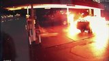 FRAME BY FRAME: Car crash into gas pump… - (4/8)