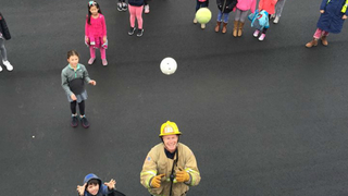 Local firefighters help retrieve kids
