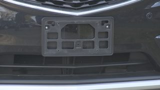 License plate thieves leave family in danger of bad encounter with police