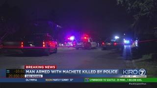 Police shoot machete-wielding man in Des Moines