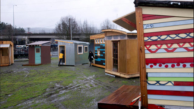 Awesome Would You House A Homeless Family In Your Backyard Kiro Tv Largest Home Design Picture Inspirations Pitcheantrous