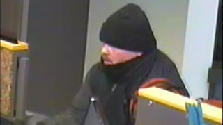 Do you recognize this Spanaway bank robber?