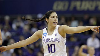 Kelsey Plum unanimous choice as AP women
