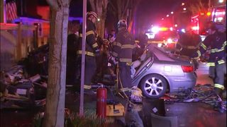 Two teens hurt in South Park crash