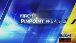 KIRO 7 PinPoint Weather video for Wed. afternoon