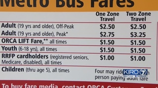 King County Metro considers simplifying bus fares