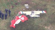 An ultralight aircraft crashed in a Spanaway yard on April 13, 2017.
