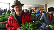 File photo: Seattle Tilth's edible plant sale. Pictured is former Mayor McGinn, bwho stopped in!