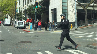 Seattle police shooting downtown; 2 officers hospitalized; 2 officers injured