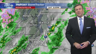 KIRO 7 PinPoint Weather for Saturday, April 22