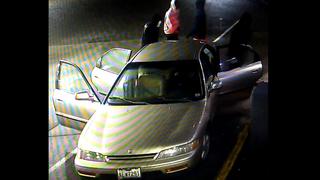 Stolen car seen on surveillance during attempted burglary
