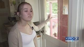 Intruder appearing in women