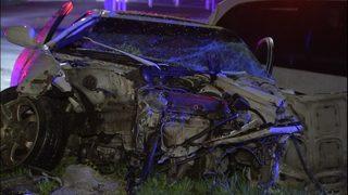 PHOTOS: 3 hurt in West Seattle crash