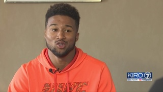 Garfield HS football player talks about being recruited from Texas