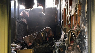 Man escapes apartment fire in Marysville