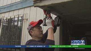 Volunteers help renovate homes of Seattle seniors
