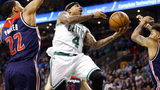 Isaiah Thomas scores 33 in Celtics win, just one day after attending…