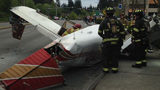 Mukilteo police said a small plane crashed on Mukilteo Speedway Tuesday afternoon.