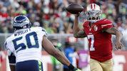 Pete Carroll said Colin Kaepernick is among the backup quarterback options Seattle is considering. (AP)