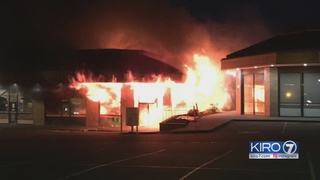 Federal Way fire destroys local businesses