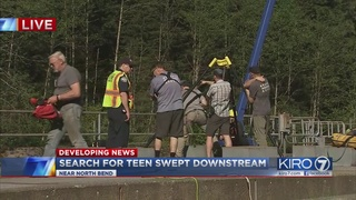 Crews recover body of missing swimmer in Snoqualmie River
