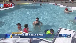 More Seattle wading pools slated to open this summer after being dry for…