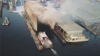 Four boats damaged in marina fire Sunday
