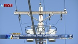 Faulty part on power pole caused Everett man