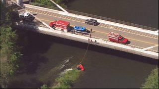Three people pulled from Green River; woman suffers life-threatening injuries