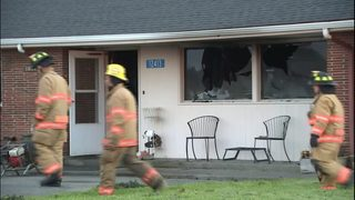 Two hurt in house fire near La Conner