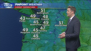 KIRO 7 PinPoint Weather video for Thurs. morning