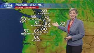 KIRO 7 PinPoint Weather for Saturday, May 27