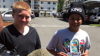 Bellingham police reach out to kids, hope to build relationships