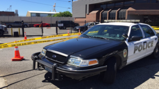 Driver rams into Bremerton police headquarters