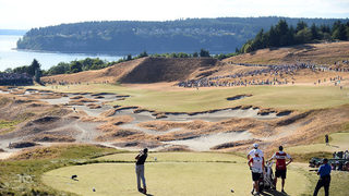 Drunken Chambers Bay golfers startle woman, break man