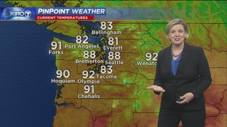 KIRO 7 PinPoint Weather for Saturday, June 24